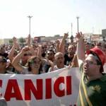 TARANTO: CORTEO OPERAI ILVA CONTRO SEQUESTRO DELLA FABBRICA
