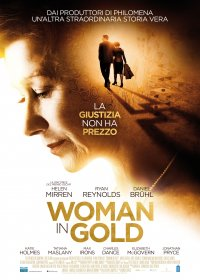womani in gold
